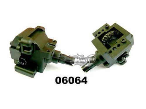 06064 CASSA DIFFERENZIALE POSTERIORE COMPLETA REAR GEAR BOX COMPLETE HIMOTO 1 10