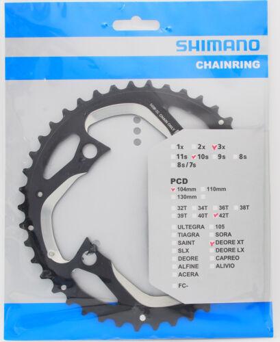 M980//M770-10//M660-10 Usable Shimano XT FC-M780 Chainring 42T-AE 42-32-24T