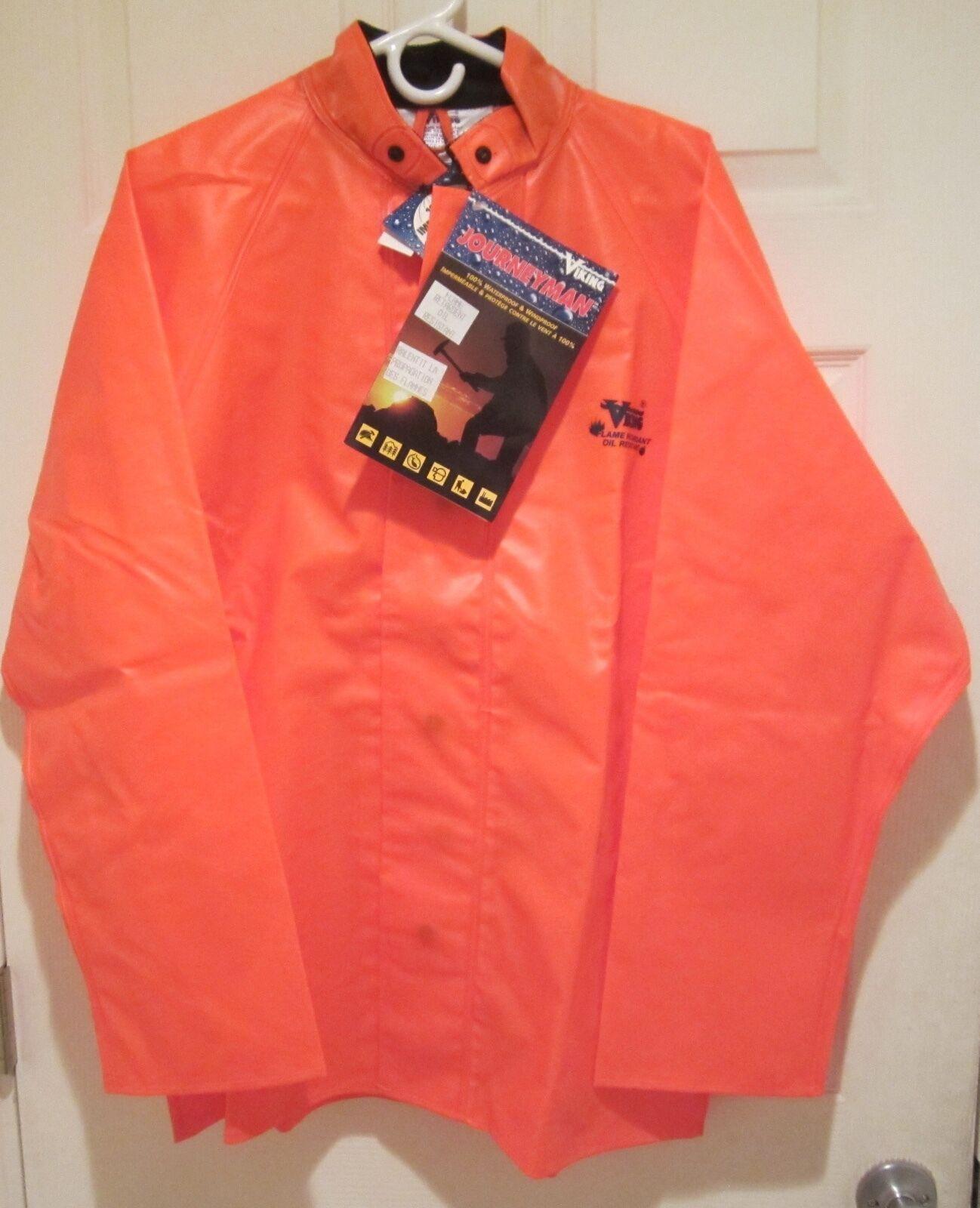 NEW Viking Journeyman Rain Coat Jacket Waterproof Windproof Oil Resistant Large
