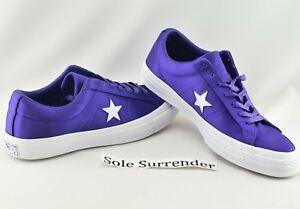 161196C Ox Court Purple White Satin QS