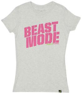 5a34dae9 Image is loading MusclePharm-MP-Womens-Beast-T-Shirt-Light-Heather-