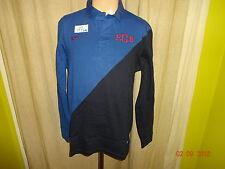 "FC Barcelona Original Nike Langarm Polo-Sweatshirt ""F.C.B"" Gr.L Neu"