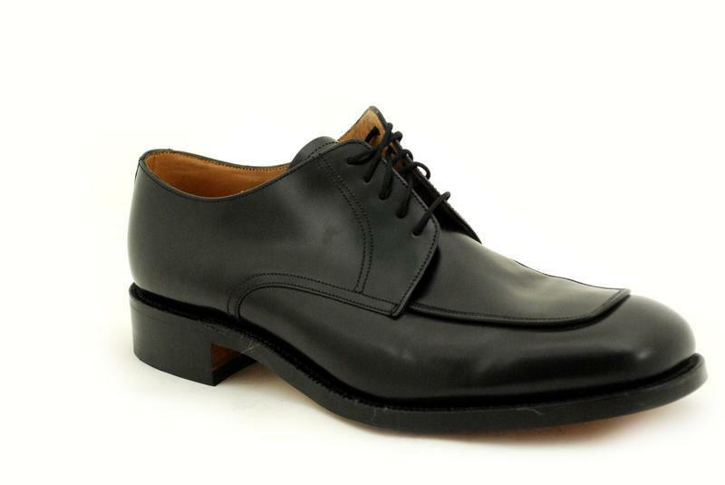 hommes loake couture cousues prime 1316b chaussures oeil chaussures 5 oeil chaussures noir polis edcb1e