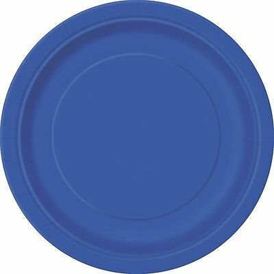 """Paper Plates Partyware 7"""" and 9"""" Choose Colors"""