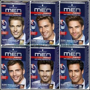 Schwarzkopf Men Perfect Anti Grey Hair Color Gel Germany Ebay