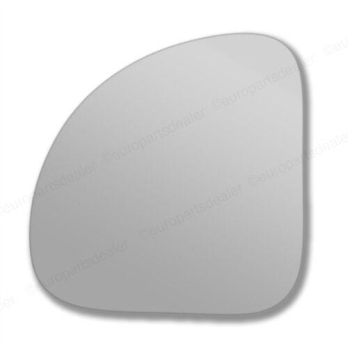 Côté Passager Aile Porte Miroir Verre Pour Fiat Multipla 1998-2010 stick NEUF