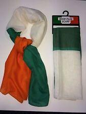 Bufanda bandera irlandesa, genial para los fans de deportes, Unisex, el día de San Patricio artículo