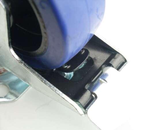 2 Set SL 100 mm Schwerlast Blue Wheel Lenkrollen mit//ohne Bremse Transportrollen