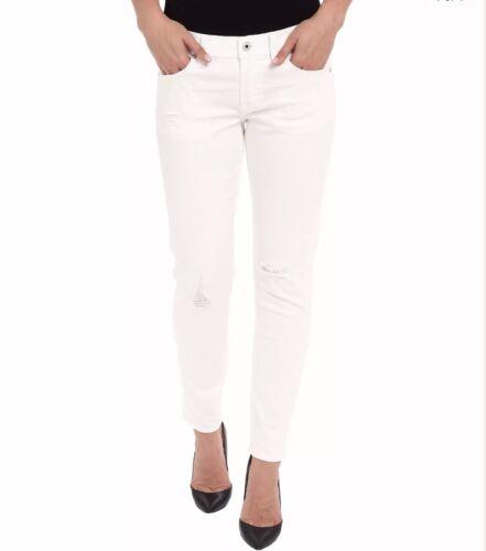 LUCKY BRAND Sienna Slim Boyfriend Pants White