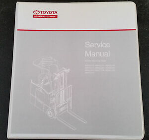 Nice Image Is Loading TOYOTA FORKLIFT SERVICE MANUAL ELECTRIC STAND 6B SERIES
