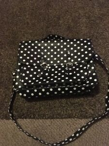 Black-Satchel-Spotty-Detail-Black-And-White