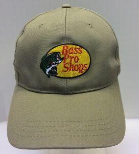 1c9e130a393 Bass Pro Shops XPS Limited Edition Fishing Tan Khaki Snapback Hat ...