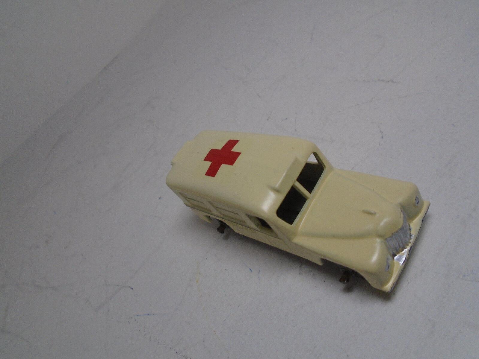 Vintage Moko Lesnety Matchbox 14A V-1 Daimler Daimler Daimler Ambulance W CROSS GMW RESTORED b00a80