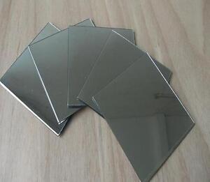 3mm Acrylic Mirror 150mm x 150mm Sheet Plastic Perspex Plexiglass Safety Panels