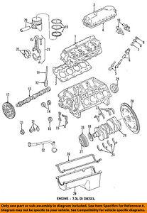 GM OEM Camshaft Cam-Front Cover Gasket 24435052