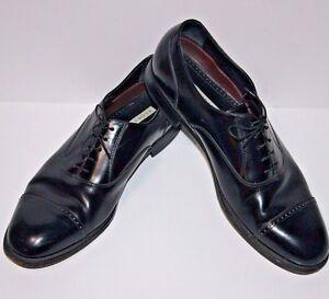 5982918414 Image is loading Florsheim-Shoes-Mens-Lexington-Cap-Toe-Black-Size-