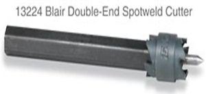 """MADE IN USA!! BLAIR-13224 Blair 13224 3//8/"""" Double-End Spotweld Cutter Assembly"""