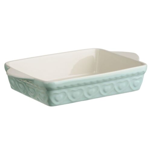 Sweet Heart Baking Dish Pastel Green Available in 3 Shapes Different Capacity