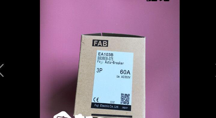 Fst  Mew  FUJI  EA103B 3P 60A  circuit breaker  free shipping