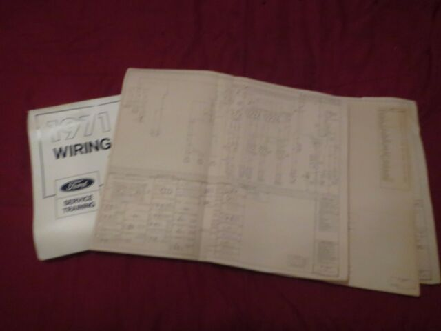 1971 Ford Torino Ranchero Cobra Gt Wiring Diagrams Manual