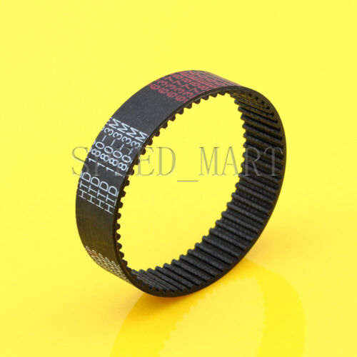 5PCS 180-3M HTD 3mm Timing Belt 60 Tooth Cogged Rubber Geared 15mm Wide CNC