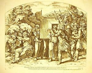 'arche De L'alliance De L'Éternel Josue Ciii La Bible N Chaperon 1649 Ap Raphaël
