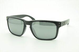 ae00153968c Image is loading Oakley-Holbrook-OO9102-D655-Sunglasses-Black-Matte-Iridum-