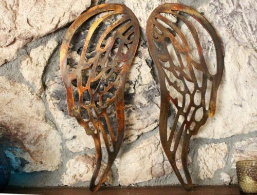 Angel Wings Copper//Bronze Plated Metal Wall Decor