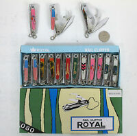 Wholesale Lot Of 12,24-mixed Design 3way Nail Clippers,knife,can Bottle Opener