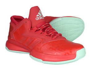 Details about Adidas Performance Red Street Jam II Mens Sport Trainers AQ8010