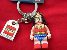 Wonder Woman  lego mini figure key chain NEW WITH TAGS Dc super heroes