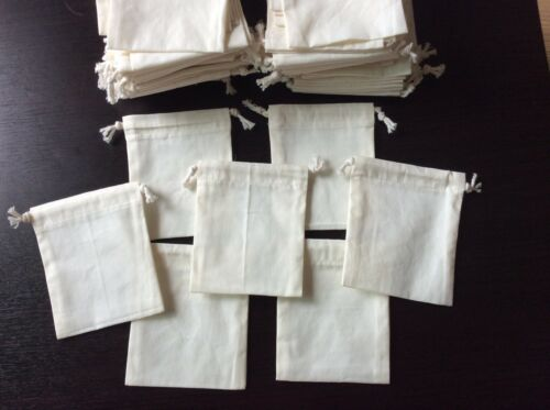 45 INCH Bulk Handmade Calico Bag Cotton Art Wedding Party Favor Gift Pouches