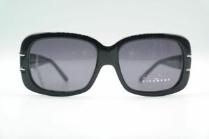 Vintage-John-Richmond-JR61001-Black-Oval-Sunglasses-Glasses-NOS