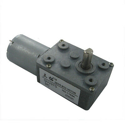 JSX40-370 DC 12V 200RPM Output Speed 6mm Shaft Electric Power Geared Motor