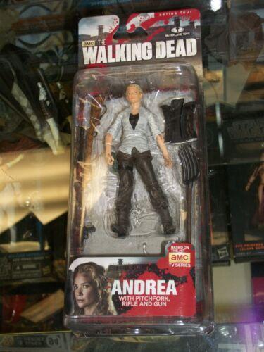 McFarlane Walking Dead TV Series 4 ANDREA Figure MOSC