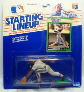 1989 JOHNNY RAY Starting lineup SLU Baseball Baseball Figurine CALIFORNIA ANGELS