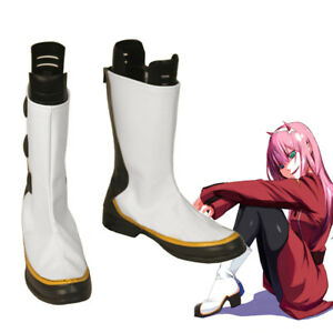 Darling in the Franxx ZERO TWO CODE:002 Cosplay Shoes Boots Custome Customized