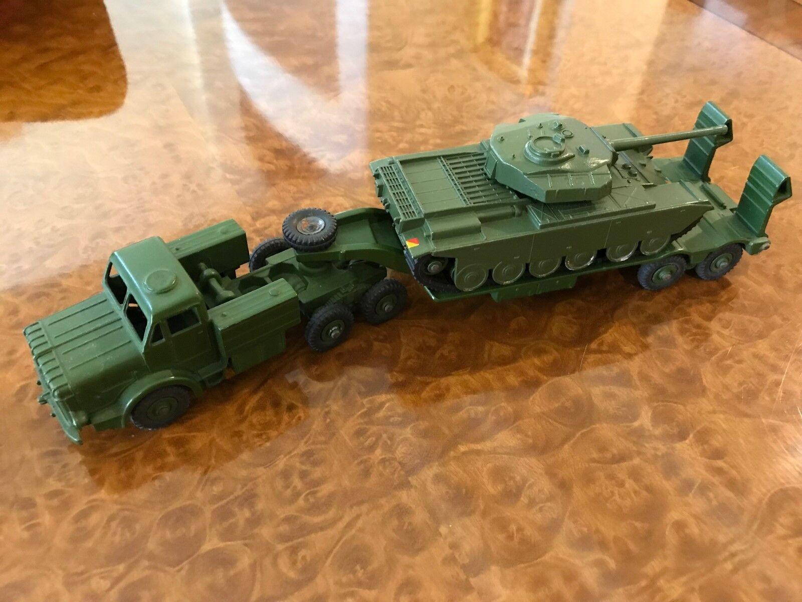 Vintage Dinky Toys MIB WWII Antar Transporter & Centurion Tank Set