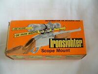 Ironsighter See-thru Scope Mount Black 400 Colt Trooper Mkiii Dan Wesson Ruger