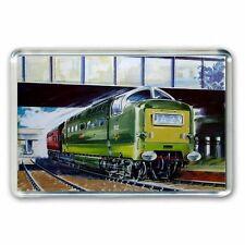 HORNBY RAILWAYS  DELTIC ARTWORK - JUMBO FRIDGE MAGNET