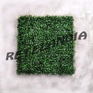 Siepe finta artificiale foglia bosso sintetica piastrella for Siepe sintetica artificiale
