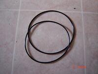 Wollensak 715, Projector Belts, 2 Belt Set