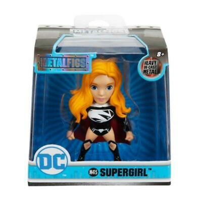 "Metalfigs DC Supergirl Noir 2.5/"" Jada métaux Figure Toy"