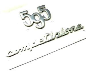 500-Abarth-595-Competizione-Rear-Badge-Emblem-Logo-Tailgate-Trunk-New-Genuine