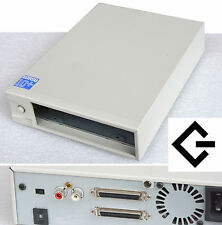 SCSI GEHÄUSE CASE EXTERN FÜR SCSI HDD ZIP 50-POL FESTPLATTEN CDROM DVD DAT S-104