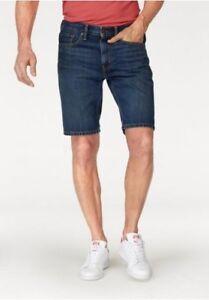 En Bleu Jeans Shorts Levi S Slim Pantacourt Denim Hommes Bermuda Neuf 502 OqPntxwI