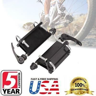 Pair Alloy Bicycle Block Quick Release Fork Mount for Pickup Truck Rack Carrier