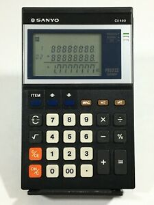 Vintage-SANYO-Model-CX-480-Process-Calculator