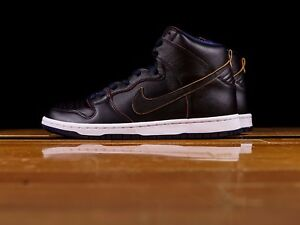 071f6a6af NIKE SB DUNK HIGH PRO NBA CLEVELAND CAVALIERS BLACK COLLEGE NAVY ...