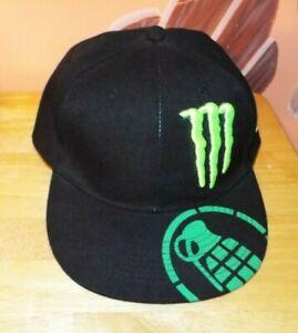 993c3ac098d MONSTER ENERGY DRINK GRENADE ATHLETIC HAT. WOOL BLEND 7